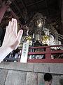 Hand-size comparison to Buddha.jpg