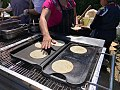 Handmade tortillas - Three Sticks Wines 2018 Spring Release Party - Sarah Stierch 01.jpg