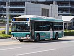 Haneda Keikyu Bus NH4632 Blue Ribbon Hybrid Haneda Airport Terminal Shuttle.jpg