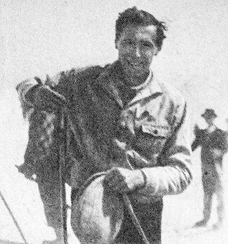 Hannes Schneider - Hannes Schneider in Japan in 1930