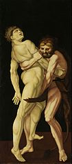 Heracles and Antaeus