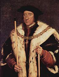Hans Holbein: Thomas Howard, Third Duke of Norfolk (1473-1554)