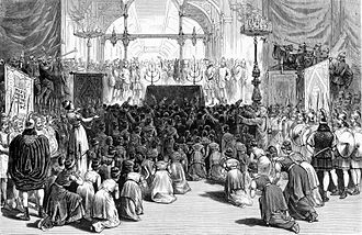 Academy of Music (New York City) - Hanukkah celebration by the Young Men's Hebrew Association at the Academy of Music, December 16, 1880