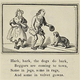 Ilration From Marks S Edition Of Nursery Rhymes Published Between 1835 And 1857