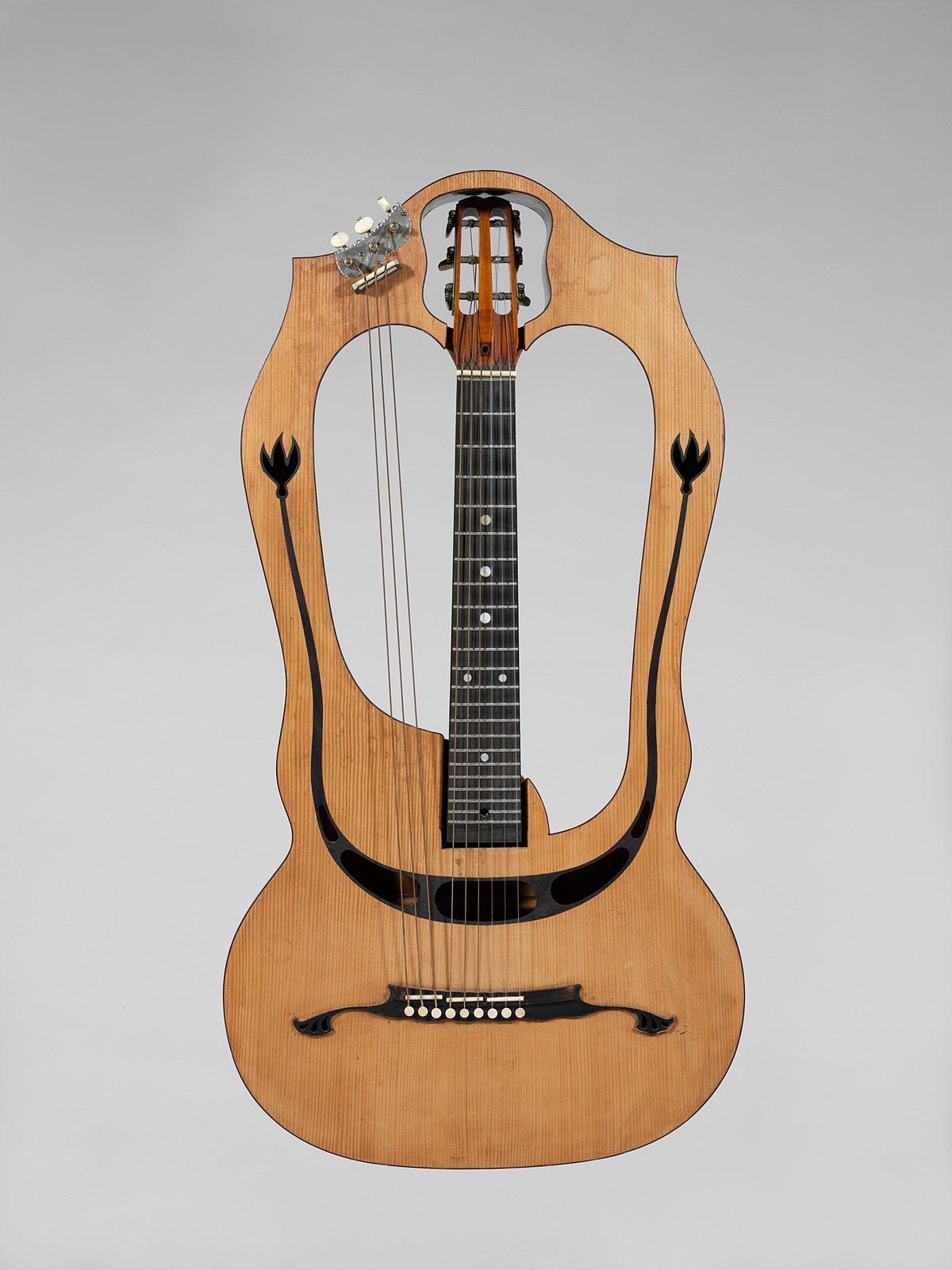 guitare harpe wikip dia. Black Bedroom Furniture Sets. Home Design Ideas