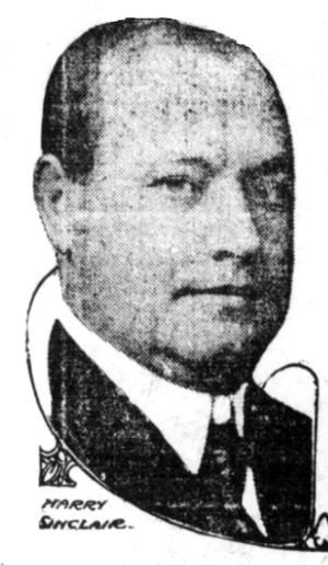 Harry Ford Sinclair - Image: Harry sinclair federal league