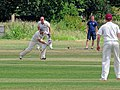 Hatfield Heath CC v. Takeley CC on Hatfield Heath village green, Essex, England 22.jpg