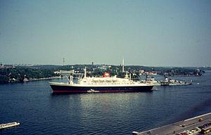 SS Statendam (1956) - Image: Haven Stockholm 1972