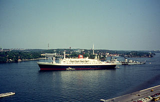 SS <i>Statendam</i> (1956) Liner of the Holland America Line place in service in 1957 and scrapped in 2007 at Alang.