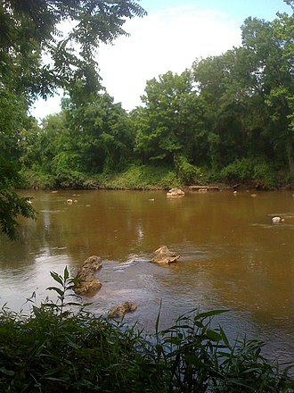 Haw River - The Haw River within Haw River State Park