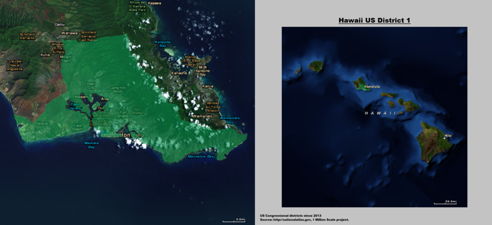 Hawaii US Congressional District 1 (since 2013)