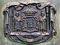 Hawaii coat of arms, Pitman Tomb.jpg