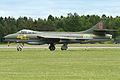 Hawker Hunter F58 34033 G red (SE-DXM) (8389892301).jpg