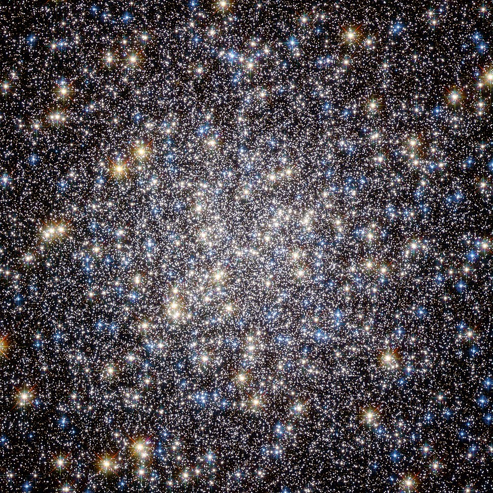 Heart of M13 Hercules Globular Cluster