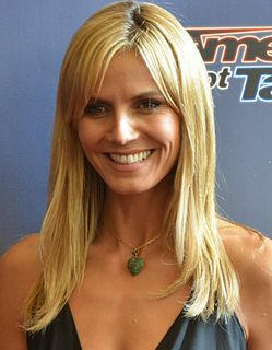 Heidi Klum German-American model, television personality, singer, and actress