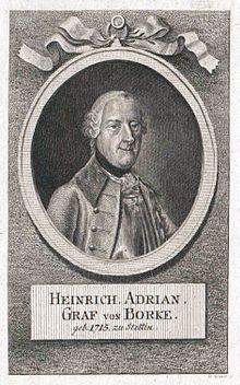 Der militärische Erzieher: Heinrich Adrian von Borcke (Quelle: Wikimedia)