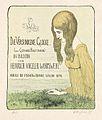 Heinrich Vogeler Die versunkene Glocke Titel 1898.jpg