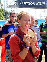 Helen Glover with 2012 Olympic Gold medal.jpg