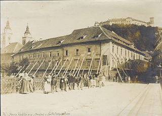 1895 Ljubljana earthquake
