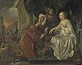 Hendrick Heerschop - Rebecca ontvangt geschenken van Abrahams knecht - SK-A-1431 - Rijksmuseum.jpg