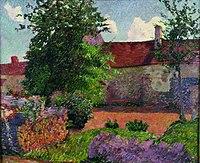 Henri Delavallée Paysage à Marlotte.jpg