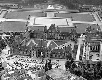 Common Security and Defence Policy - Commands of the Western Union's service branches, situated in the Palace of Fontainebleau 1948–1951