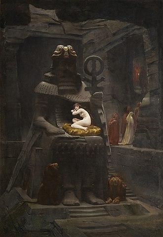 The Fiancée of Belus - Image: Henri Motte La fiancée de Bélus (1885)