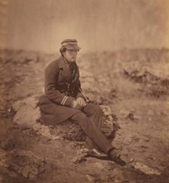 "Henry Berkeley Fitzhardinge Maxse - ""Fitz-Maxse"" pictured during the Crimean War. (Henry Berkeley FitzHardinge Maxse) (1832-1883)"