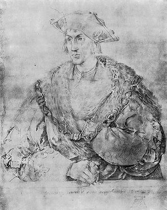 Henry Parker, 10th Baron Morley - Henry Parker, Lord Morley (Albrecht Dürer, 1523)