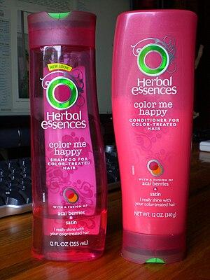 "English: Herbal Essences - ""Color Me Happ..."