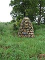 Heritage Lottery Fund cairn - geograph.org.uk - 472365.jpg