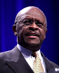 Herman Cain, homme d'affaires du Nebraska