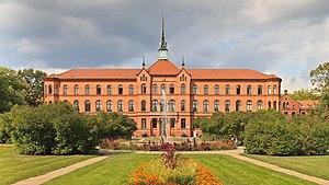 Lichtenberg (locality) - Image: Herzberge Krankenhaus B Lichtenberg 08 14
