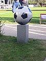 Hetlingen Sportplatz Fussballmonument 2016.jpg