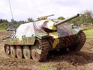 <i>Hetzer</i> 1944 German tank destroyer