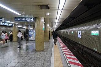 Hibiya Station - Chiyoda Line