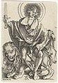 Hieronymus Wierix, Albrecht Dürer (after) - Son of Justice (Sol Justitiae).jpg