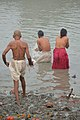 Hindu Devotees Taking Holy Dip In Ganga - Makar Sankranti Observance - Kolkata 2018-01-14 6622.JPG