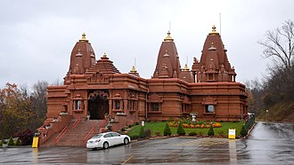 Jainism in the United States - Image: Hindu Jain Temple, Monoroeville, PA, USA. panoramio