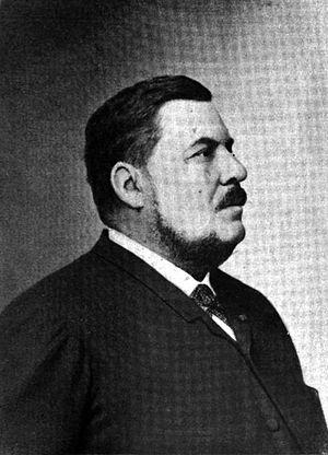 Hippolyte Auguste Marinoni - Hippolyte Auguste Marinoni; from La presse française au vingtième siècle, by Henri Avenel, E. Flammarion, 1901.