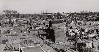 Bombing of Hiratsuka in World War II