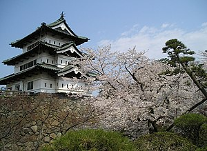 Aomori Prefecture - Hirosaki Castle, a reminder of the Edo period