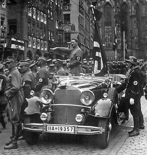 Hitler Nürnberg 1935