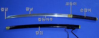 Hankumdo - Hankumdo sword