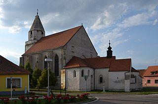 Hnanice Municipality in South Moravian, Czech Republic