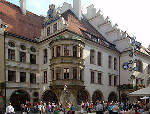 Staatliches Hofbräuhaus in München - Hofbräuhaus am Platzl in München, the former Hofbräu brewery site