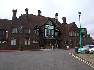Black Prince, Bexley - Front view of the current premises