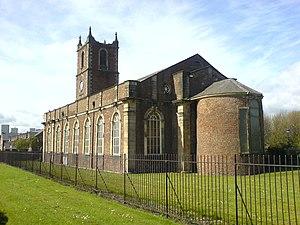 Holy Trinity Church, Sunderland - Image: Holy Trinity Sunderland apse