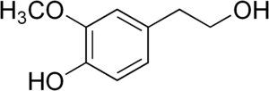 Homovanillyl alcohol - Image: Homovanillyl alcohol