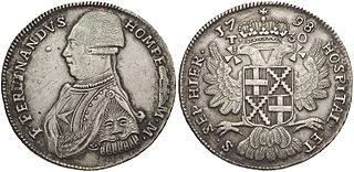 Maltese scudo official currency of the Sovereign Military Order of Malta; the currency of Malta during the rule of the Order over Malta, which ended in 1798